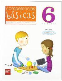 10).cuad.competencias basicas 6º.primaria: Guerra Reboredo, Alfonso/Peña