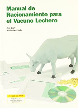 Manual de racionamiento para el vacuno lechero +cd-rom