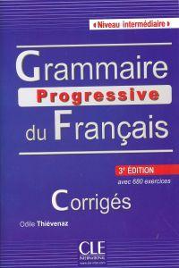 13)/corrig.interm/grammaire progressive francais avec 680: Vv.Aa.