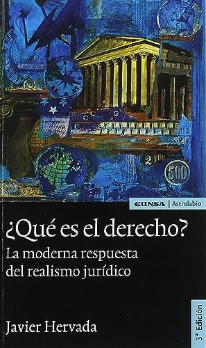 Que es el derecho?: Hervada Xiberta, Javier