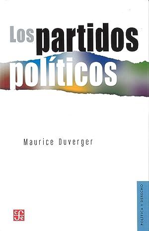 Los partidos políticos: Duverger, Maurice