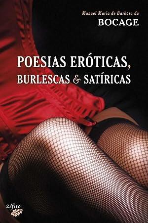 Poesias erÓticas, burlescas e satÍricas: Bocage, Manuel M.