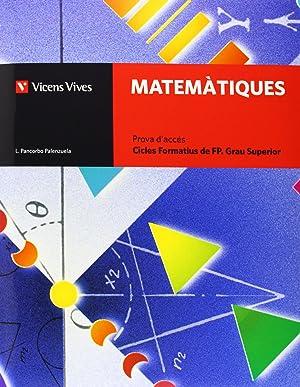 cat).(11).matematiques.(prova access cicle grau superior: Pancorbo Palenzuela, Luis