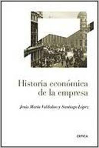 Historia económica de la empresa: Santiago López García/Jesús