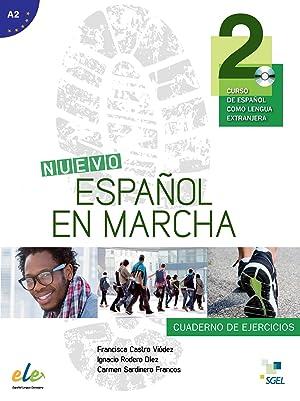 Nuevo espaÑol en marcha 2.(ejercicios+cd).esp.extranjeros: Vv.Aa