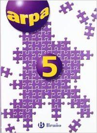n).cuaderno arpa 5º.primaria bru: Martínez Beltrán, José