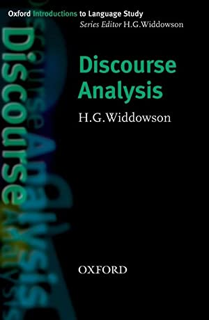 Discourse analysis: Widdowson, H.G.
