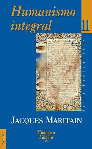 Humanismo integral: Maritan, Jacques