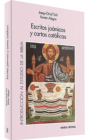 Escritos joanicos cartas catolicas: Oriol Tuñi Vancells,
