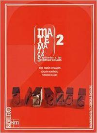Ant/(09).matematicas (aplicadas) 2ºbach.(sociales): Vizmanos Buelta, José
