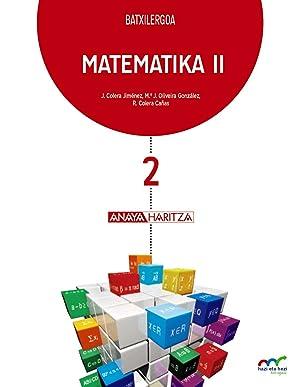 eus).(17).matematika ii (2ºbatxilergoa): Vv.Aa