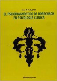 Psicodiagnostico de rorschach en psicologia clinica: Portuondo Espinosa, Juan