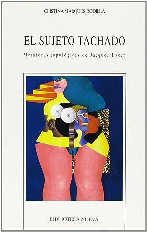 Sujeto tachado,el: Marques Rodilla, Cristina