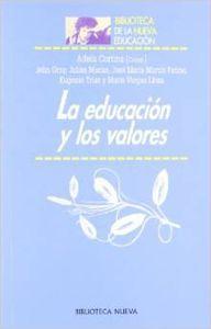 Educacion y los valores,la: Cortina, Adela (ed,)