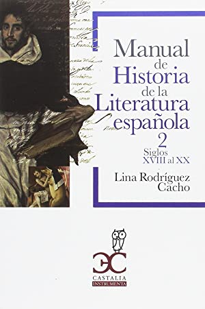 Manual historia literatura vol 2: Rodriguez Cacho