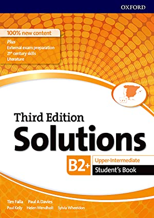 Solutions upper intermediate student's third edition 2017