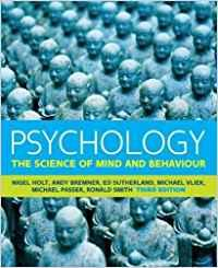 Psychology: the science of mind and behaviour: Holt