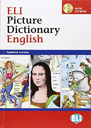 Eli Picture Dictionary English +cd rom: Varios