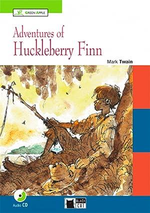 Adventures of huckleberry finn with cd a2-b1: Twain,Mark