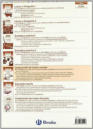 05).refuerzo lengua eso (comprension escritos): Gómez Picapeo, Jesús/Lajo