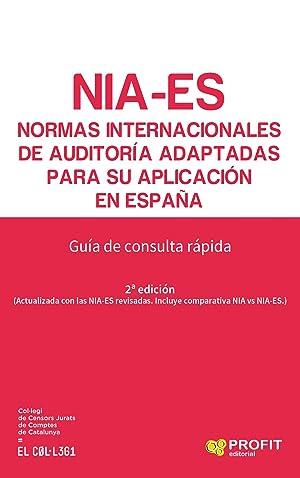 NIA-ES. NORMAS INTERNACIONALES DE AUDITORÍA ADAPTADAS PARA: Vv.Aa.