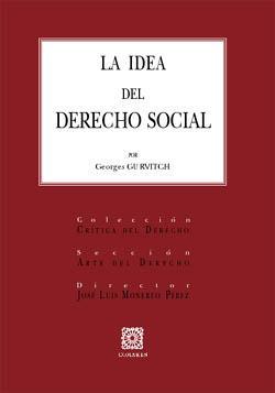 La idea del derecho social: Guruitch, Georges