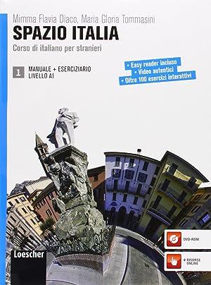 Spazio italia a1 (libro+dvd): Diaco, M.F.
