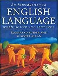 An introduction to english language: Kuiper, Koenraad