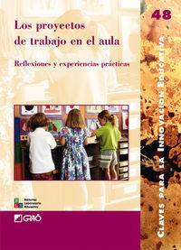 Proyectos de trabajo en el aula.reflexiones y: Sanmarti, Neus
