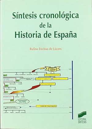 Sintesis cronologica de la historia de espaÑa: Vv.Aa.