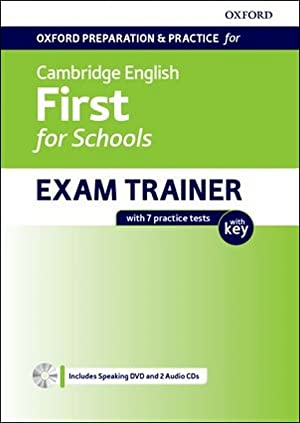 First for schools exam trainer student's with key oxford preparation for cambridge english