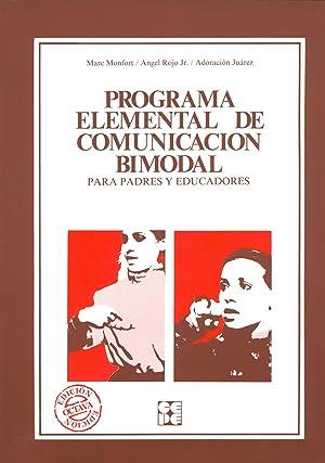 Programa elemental de comunicación bimodal para padres: Monfot, Marc