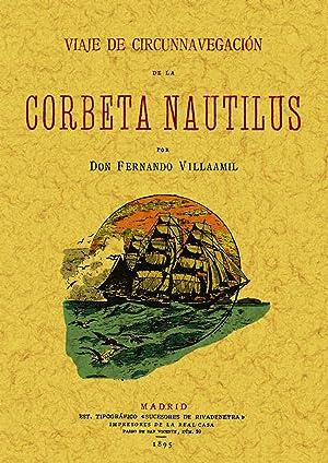 Viaje de circunnavegación de la corbeta Nautilus: Villaamil, Fernando