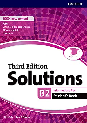 Solutions intermediate plus student's book third edition 2017