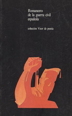 Romancero guerra civil espaÑola: Sin Autor