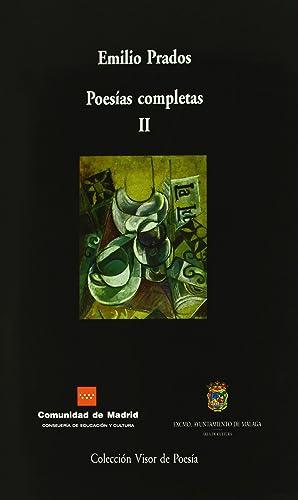 Poesias completas volumen ii: Prados, Emilio