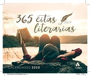 Calendario 2020 365 Citas Literarias