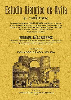 Estudio histórico de Avila: Ballesteros, Enrique