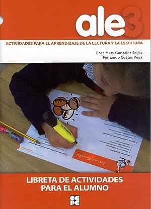 Ale3. Actividades para el aprendizaje lectura y: Gonzalez Seijas, Rosa/Cuetos