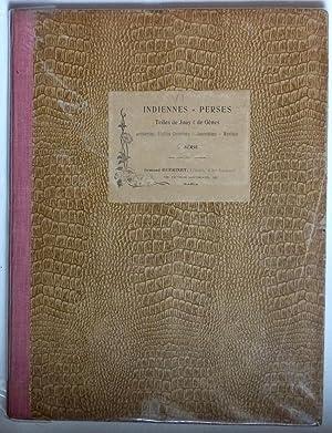 Indiennes, Perses, toiles de Jouy et de Gênes, tapis orientaux (6e série): Broderies, ...