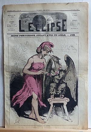 Jeune Phrygienne jouant avec un aigle (L'Eclipse: Job (Jacques Onfroy