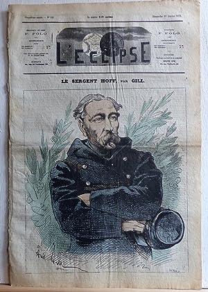 Le sergent Hoff (L'Eclipse n°221): Gill, André