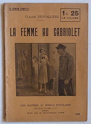 La femme au cabriolet: Desvalliers, Claude (Philbert,