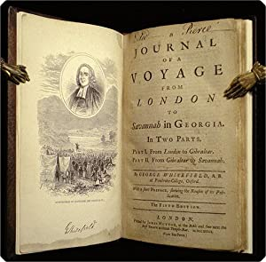 A journal of a voyage from London to Savannah in Georgia. In two parts. Part I. From London to ...