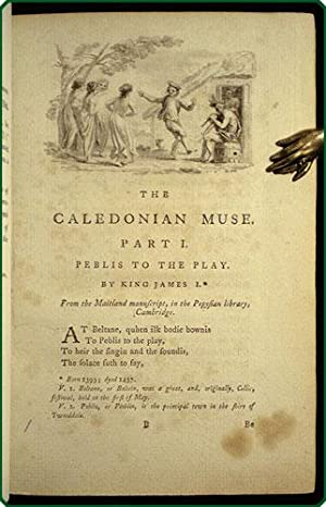 The Caledonian muse: A chronological selection of Scotish poetry from the earliest times.: Ritson, ...
