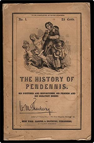The history of Pendennis.: Thackeray, William Makepeace.