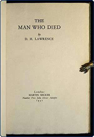 The man who died.: Lawrence, D.H.