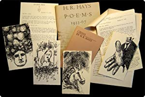Poems 1933?67.: Hays, H.R.