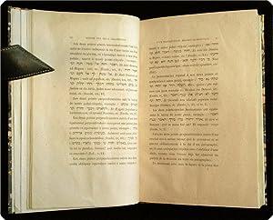 Notice sur deux fragments d'un Pentateuque h?breu-samaritain rapport?s de la Palestine par M. ...
