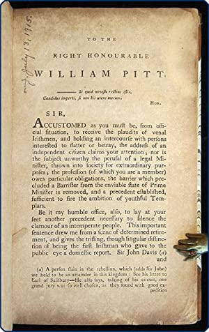 Letters of William Russell, on the doctrine of constructive contempt. With a true copy of the ...